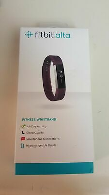 New Sealed Fitbit ALTA Wristband Wireless Tracker Activity Sleep PURPLE / SMALL