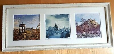 Watercolour City of Dundee Scotland painterly landmarks Ready to Hang X1714