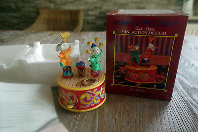 Spieluhr Enesco a cheese Ring Circus Originalkarton