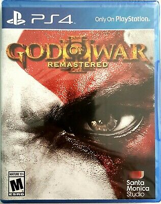 God Of War Iii Remastered * Playstation 4 * Brand New Factory Sealed