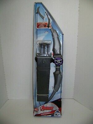 Disney Store Marvel Avengers Hawkeye Bow And Arrow, Quiver Set. Collapsible New