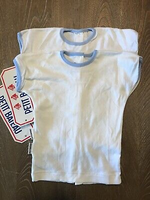 Petit Bateau 6 mo T Shirt New Old Stock Baby Retro Traditional  France  NWT
