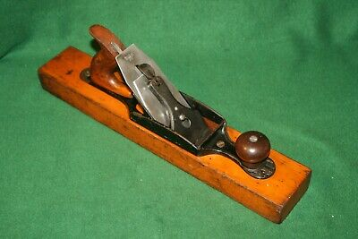 Vintage Restored Stanley Bailey No28 Pat'd 1912 Transitional Fore Plane Inv#BL92