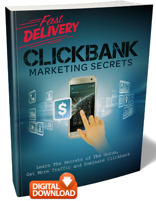 Clickbank Marketing Secrets & Affiliate Resale Rights + Bonus (Digital Book)