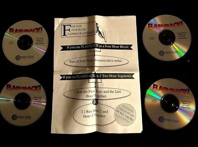 1999 Flashback 4Cd Radio Show Jimi Hendrix Led Zeppelin Santana Janis Joplin Who