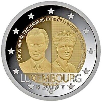 2 euro commemorative coin Luxembourg 2019 - 100 years Grand-Duchess Charlotte