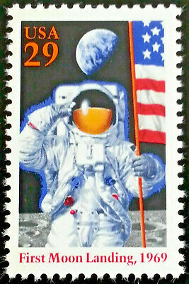 Moon Landing 25th Anniversary USA Stamp #2841 Mint Never Hinged Issued 1994