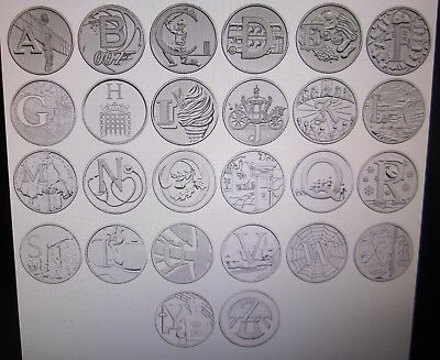 The Great British Coin Hunt - A-Z 2018 UK 10p Uncirculated 26 Coins Royal Mint