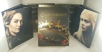 Game of Thrones: The Complete Second Season 2 Blu-Ray 5 Disc Box Set w/ Slipcase
