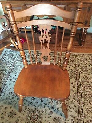 Tell City Chair Company #8066 Rockport Side Chair in Andover finish