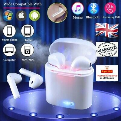 Wireless Bluetooth Earbuds Headphones Earpods I7S Tws For Iphone Samsung Lg Uk