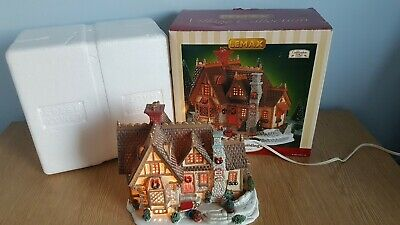 Lemax Village Collection Howard House Illuminated Building Christmas Retired