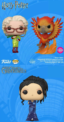 Funko Pop! Harry Potter: SDCC 2019 Shared Exclusive PREORDER Rare Vinyl Flocked