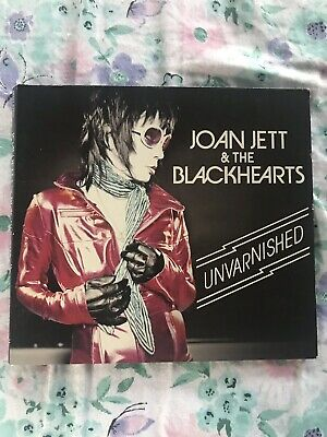 Joan Jett, Joan Jett and the Blackhearts - Unvarnished New Unsealed DJ Promo