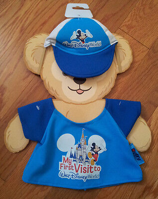 """Duffy-The-Disney-Bear-My-First-Visit-to-Disney-World-Fits-17""""-Duffy-Disney-Parks"""