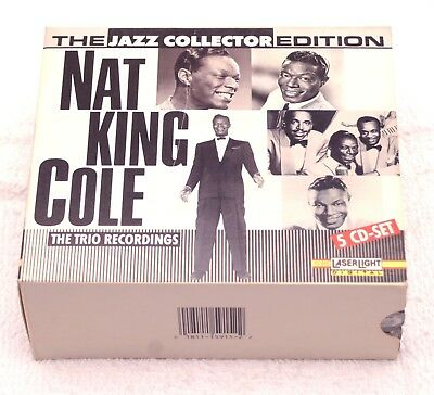 The Jazz Collector Edition: Nat King Cole Trio Recordings by Nat King Cole-5 CDs