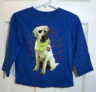 Garanimals Toddler Boys Long Sleeve T-Shirt Size 24 Mo Blue Dog Mom