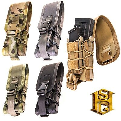 HSGI MOLLE Extended Pistol Taco Covered-18EXC0-Multicam-Coyote-Olive-Black-WG