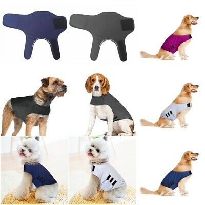 Pet Dog Anti-Anxiety Calm Jacket Stress Relief Vest Coat Cotton Clothes Costume