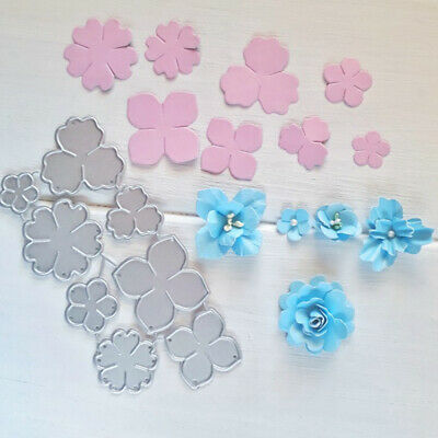 DIY Embossing Craft Flowers Metal Cutting Dies Stencil Scrapbooking Paper Card