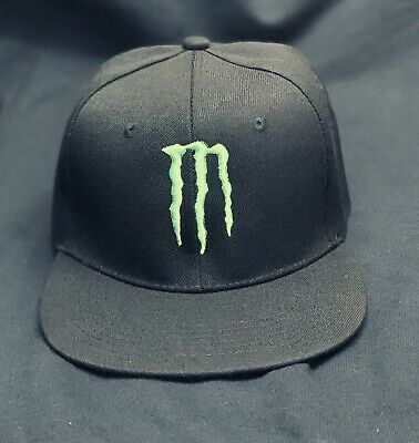 uk availability 1f272 35be0 New Monster Energy Snapback Hat Cap