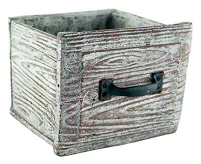 "SYNDICATE HOME & GARDEN 6.5"" Vint Draw Planter 7861-08-917"