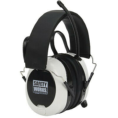 SAFETY WORKS INC Bluetooth Digital AM/FM Earmuffs SWX00260