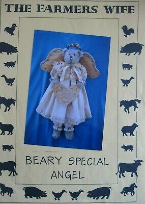 The Farmers Wife BEARY SPECIAL ANGEL Bear pattern