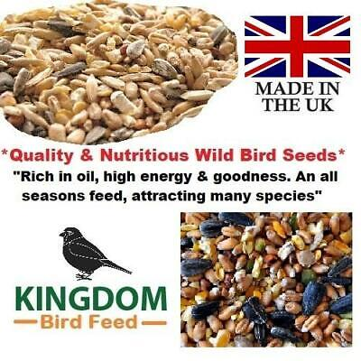 Wild Bird Seed Food Feed Garden All Seasons Seeds Mix Feeders Bird Table 20Kg