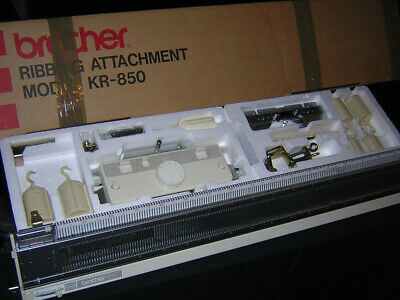 Brother knitting machine Ribber KR 850 Complete & Serviced