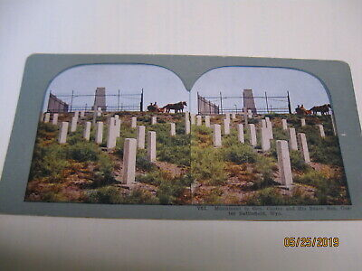 Mummy Catacombs Custer Teddy Roosv Klondike Sphynix Color Stereoscope View Cards