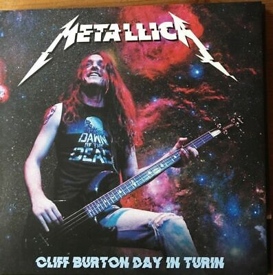 "METALLICA : ""Cliff Burton Day In Turin"" - Live 2018 (RARE 2 CD)"
