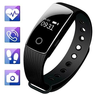 Smart Bracelet with Step Counter Pedometer Watch and Sleep Monitor Calorie Count