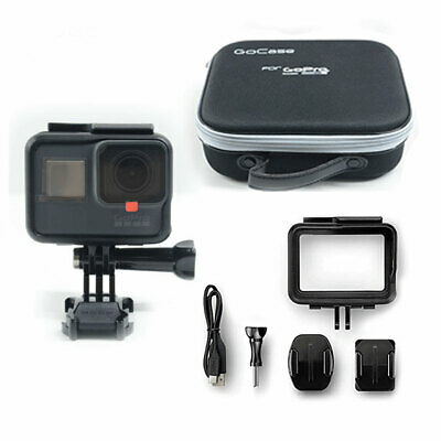 Used GOPRO HERO5 BLACK 12 MP WATERPROOF 4K WiFi CAMERA CAMCORDER CHDHX-501 cf