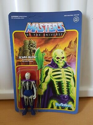 Super 7 maître de l/'univers Masters of the Universe réaction squelettor et Panthor