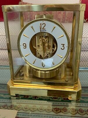 LECOULTRE ATMOS CLOCK / Model 528-6 / Working (EXC)