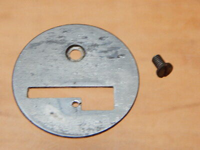 Antique Singer Sewing Machine Needle Throat Plate ~ 128K