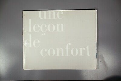 Rare French Arflex furniture catalogue   Franco Albini Marco Zanuso 1963