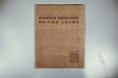 Rare Liberty & Co carpets produced on British Loom Voysey Silver 1908