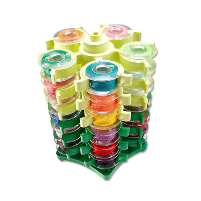 Plastic bobbins tower storage threadbox embroidery holder stand sewing machineXM