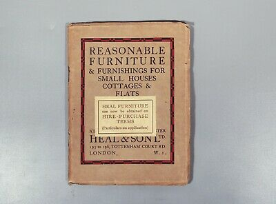 rare Heals Heal Reasonable Furniture & Furnishings For Small Houses 1937 limed
