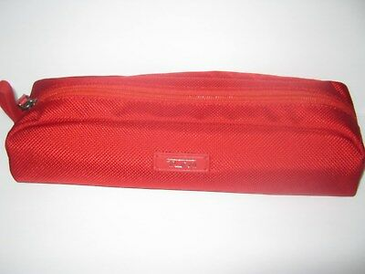 New Tumi Zipper Accessory Cord Pouch Red Ballistic Cherry ? Accent Your Alpha