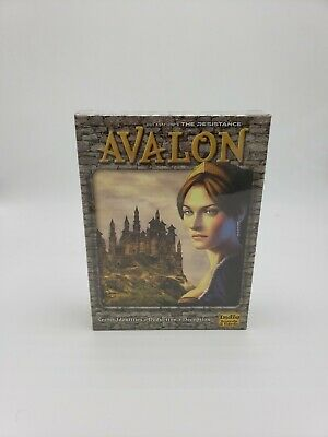 Avalon The Resistance Game New Way To Play Your Favorite Indie Boards &Cards NEW