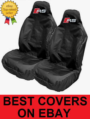 Audi RS Sports / Bucket Seat Covers Protectors - THICKEST ON EBAY - FOR AUDI RS4