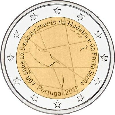 2 Euro Portugal 2019-600 Years Of The Discovery Of Madeira
