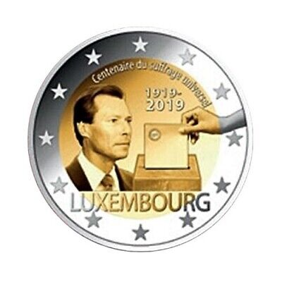 commemorative coin Luxembourg 2019 - Voting right