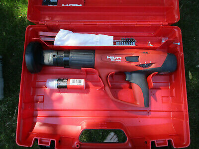 Hilti DX 460 Powder Actuated Fastening Tool w/ X-460-F8 Attachment USED