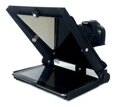 Teleprompter GazPrompt Lite 10 including hood and beam splitter glass