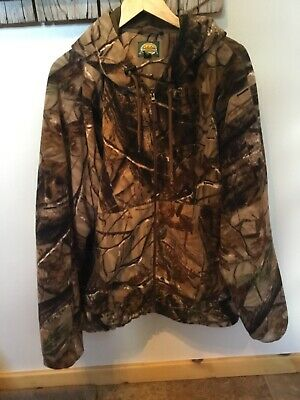 ee6d10abed591 🔥 CABELAS MENS Camo Bomber Hunting Jacket Camouflage Classic Fit ...