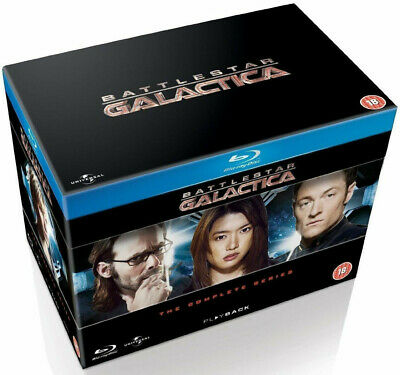 Battlestar Galactica - The Complete Series (Blu-ray, 20 Discs) Brand New, Sealed